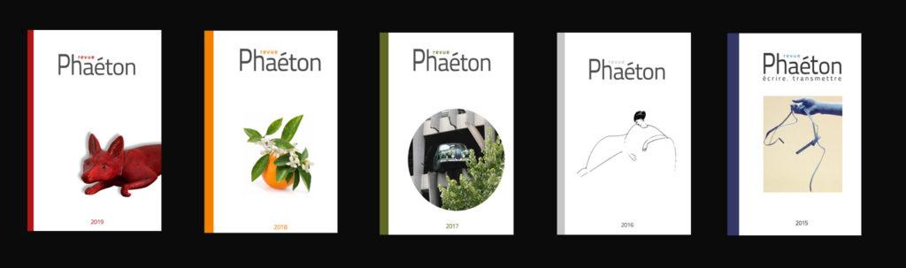 Revue Phaéton 2015 - 2016 - 2017 - 2018 - 2019